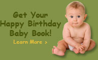 Get Your Happy Birthday Baby Book Learn More
