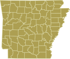 Arkansas State Map - Click to locate your Election Commissioner