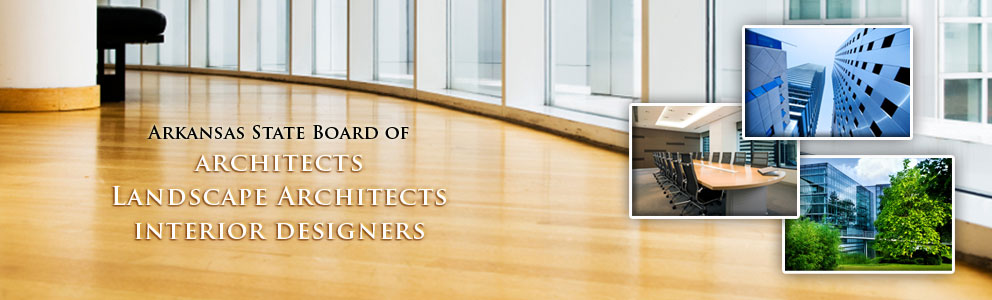 Arkansas Board of Architects, Landscape Architects and Landscape Designers