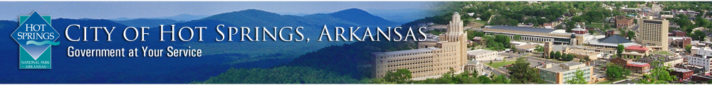 City of Hot Springs Arkansas, Government at Your Service