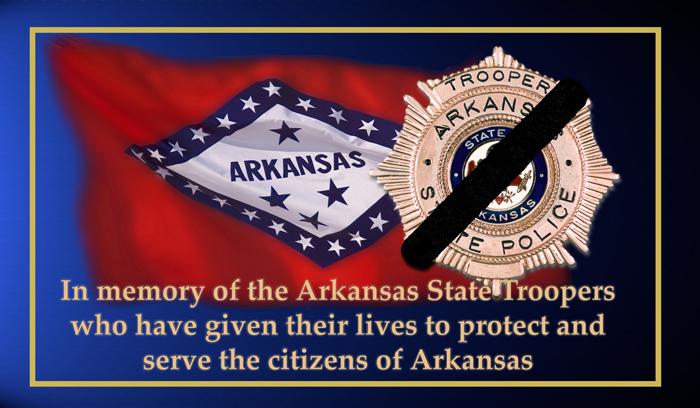 Arkansas State Police   State Trooper Memorial