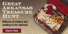 The Great Arkansas Treasure Hunt. Learn More.