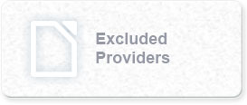 Excluded Provider List