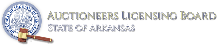 Arkansas Auctioneers Licensing Board