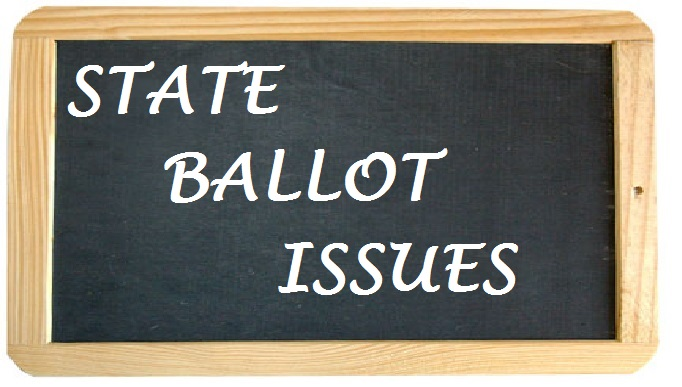 CLICK HERE for State Ballot Issues Information