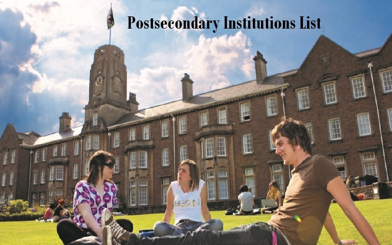 Click picture for list of Postsecondary Institutions