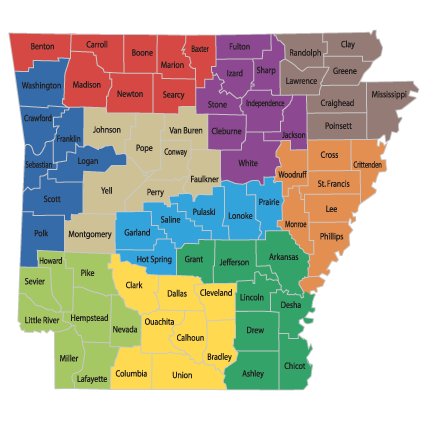 Contact Us IDrive Arkansas - Arkansas highway map