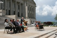 Paws in Prison Visit to Capitol