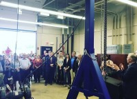 Clarksville School District Ribbon Cutting for Career and Technical Services- 2019