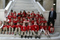 Arkansas Students at the Capitol