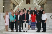 Little Rock Rotary Club 99 and Governor's Council on Common Core Review