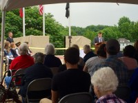 Memorial Day 2016: Siloam Springs KIA Memorial Dedication and Fayetteville National Cemetery