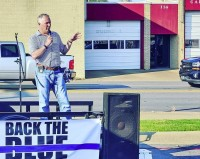 Back the Blue Event- Cabot