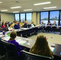 Representative French Hill and Future Leaders Council