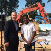 eStem Public Charter Schools High School Groundbreaking at UALR