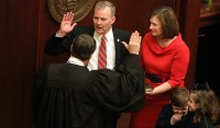 Tim Griffin Taking the Oath of Office