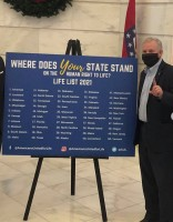 Arkansas Declared Most Pro-Life State 2021