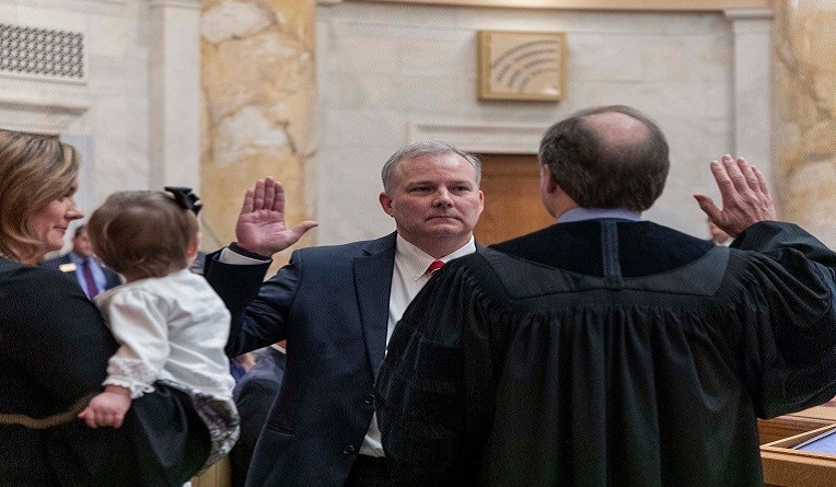 Griffin Begins Second Term as Lieutenant Governor