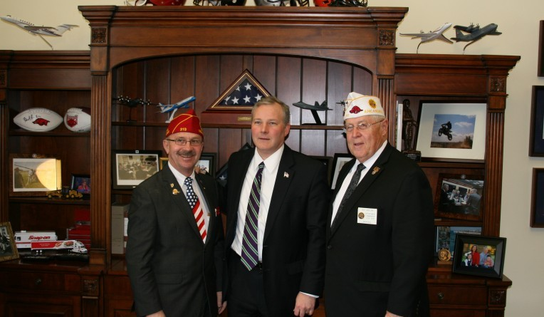 Tim and the American Legion National Commanders