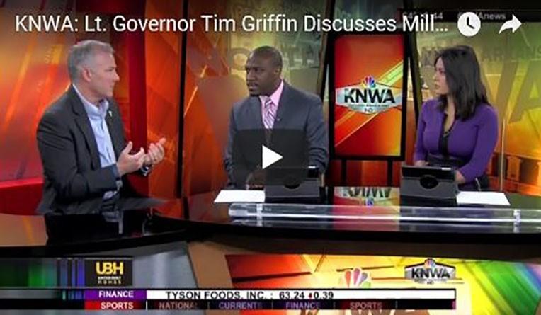 Lt. Gov. Griffin Discusses Importance of STEM Education