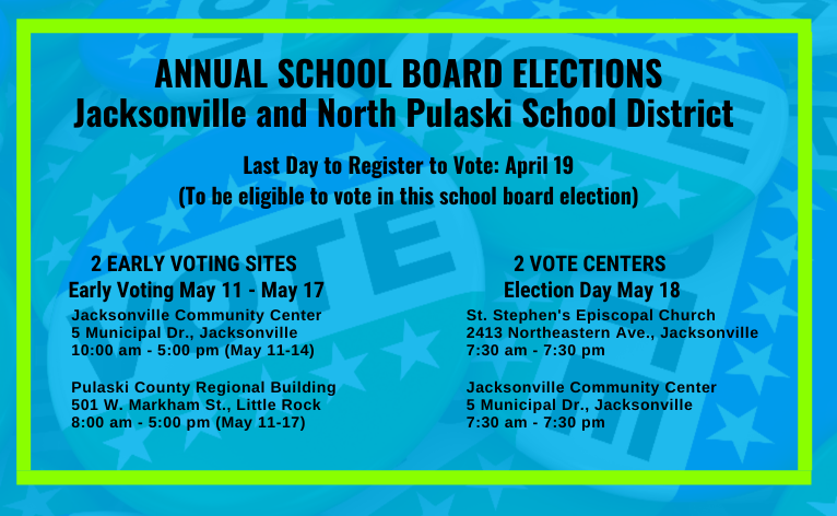 May 2021 School Board Election