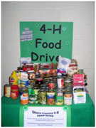 Yearly food drive fills local food pantries