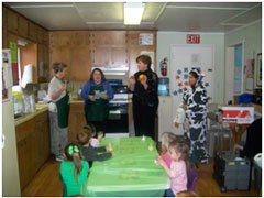 SNAP-Ed: Local day care food and nutrition program