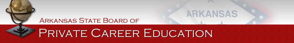 Arkansas State Board of Private Career Education